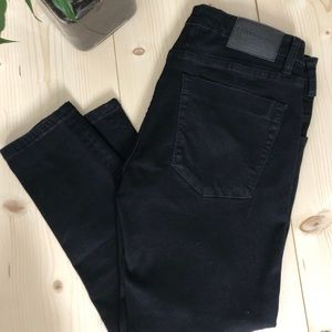 BLACK FREEBIRDS II LOW WAIST SKINNY JEAN